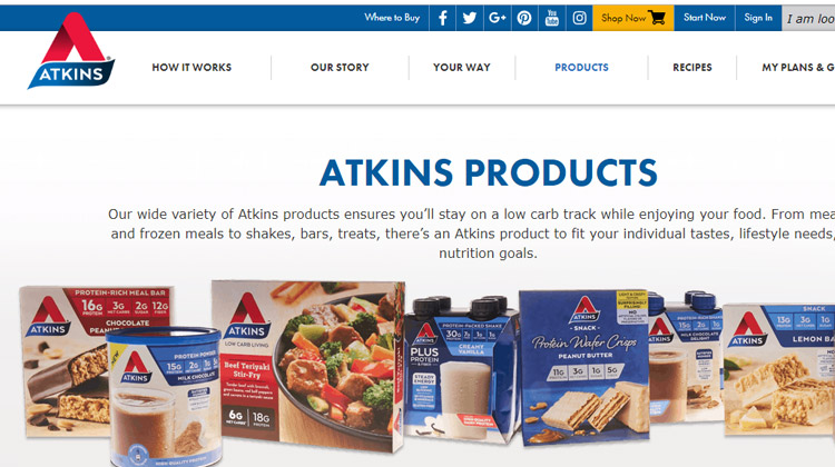 atkins meal delivery