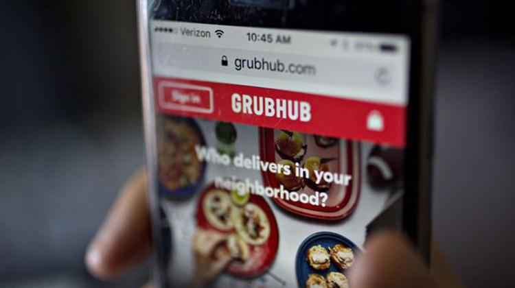 grubhub delivery app