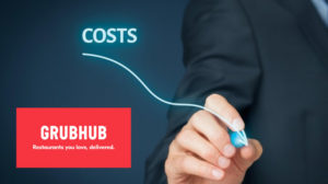 how much does grubhub cost