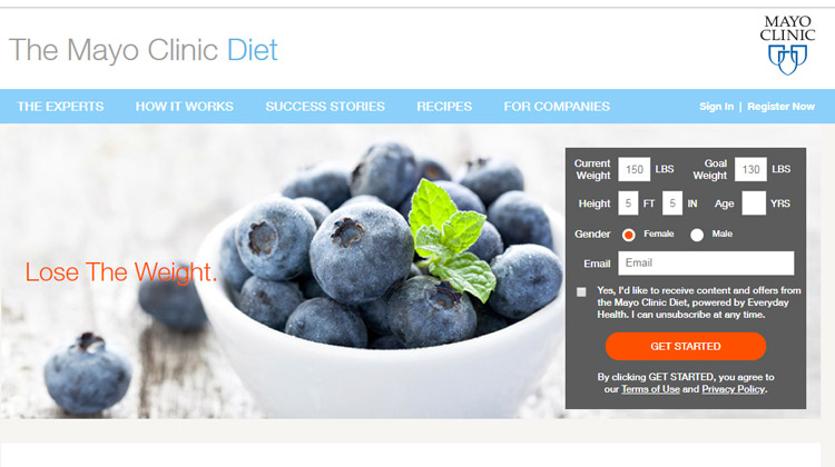 mayo clinic diet food delivery