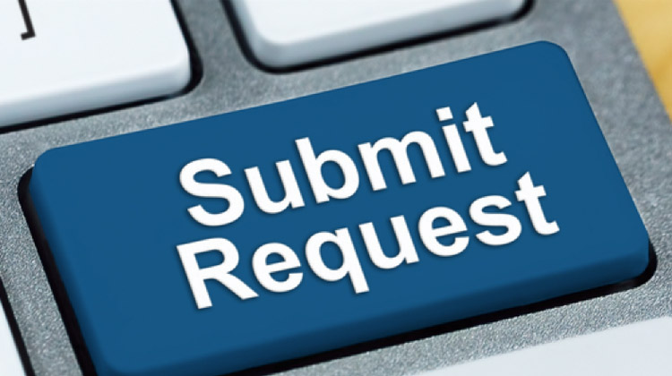 lyft submit request