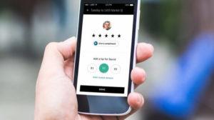 tip in UberEATS