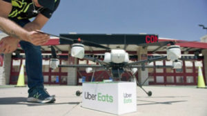 ubereats drone delivery