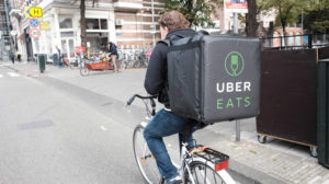 uber food delivery driver