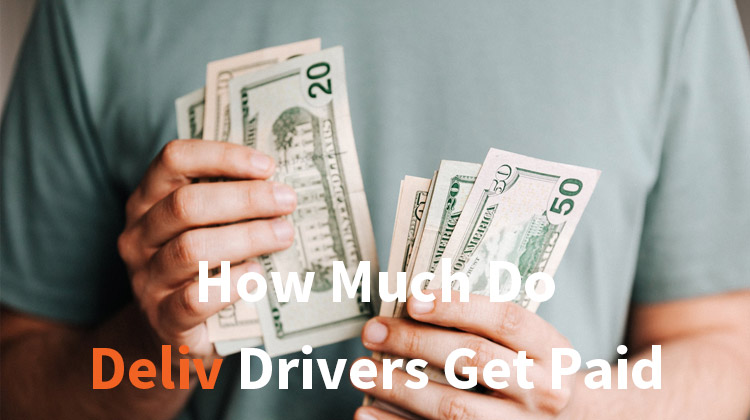 how much do deliv drivers get paid
