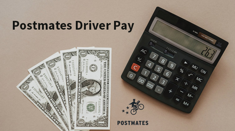 postmates delivery driver pay