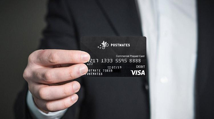 postmates prepaid card lost